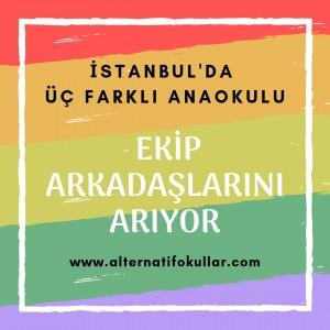 AlternatİF ANAOKULLARI EKİP ARKADAŞLARI ARIYOR... (1)